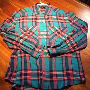 Express plaid shirt 👚